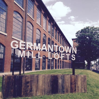The new Germantown Mill Lofts apartments are in the
