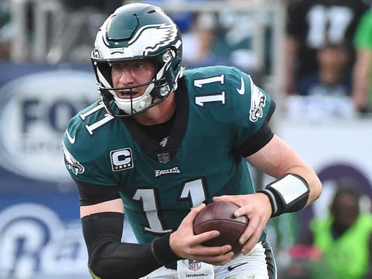 USP NFL: PHILADELPHIA EAGLES AT LOS ANGELES RAMS S FBN LAR PHI USA CA