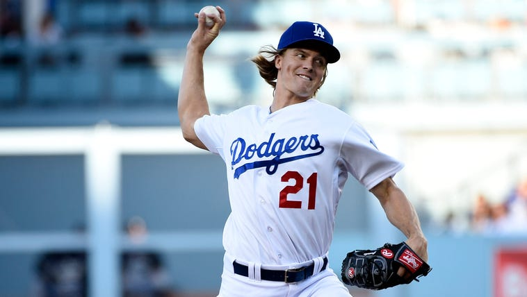 Apr 18, 2015; Los Angeles, CA, USA; Los Angeles Dodgers