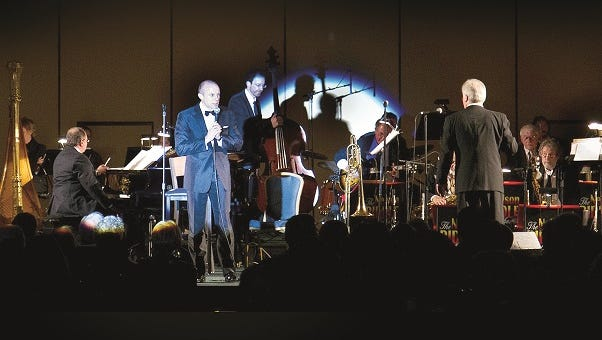The Nelson Riddle Orchestra will perform in concert at 7:30 p.m. Saturday, Oct. 17 at the LuCille Tack Center for the Arts in Spencer.