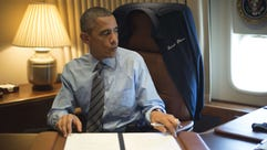 President Obama signs two Presidential Memoranda associated