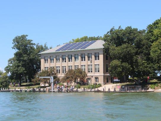 The Ohio State University's Stone Laboratory serves
