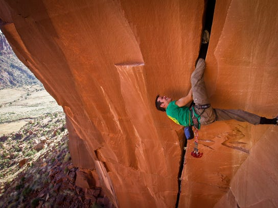 """""""Reel Rock 7: Wide Boyz,"""" is one of the films shown at a previous Banff Mountain Film Festival. This year's event takes place Nov. 10 at the Mansfield Theater."""