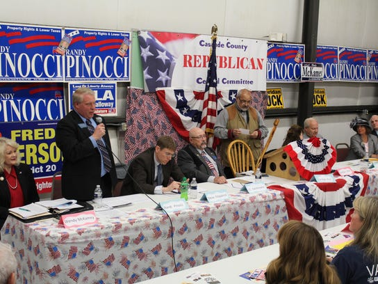 Candidate forum file photo
