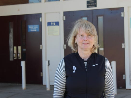 Burlington High School Principal Amy Mellencamp is