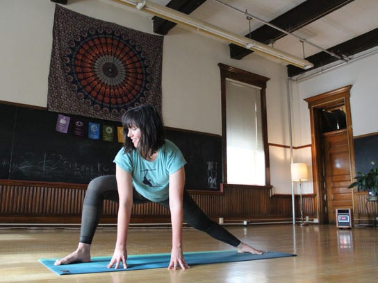 Sadie Russell is the new instructor at Mind Body Yoga.