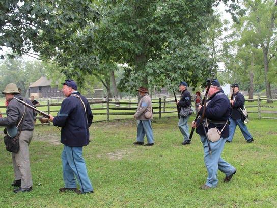 Captured Confederates