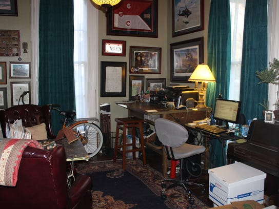 """Paige's office """"after."""""""