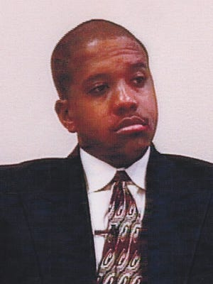 Detroit Police Officer Jerold Blanding in a photo from 1998.