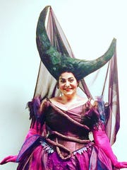"Jenni Bank performed in Seattle Opera's production of ""Die Zauberflöte"" in a costume designed by famed British designer Zandra Rhodes."
