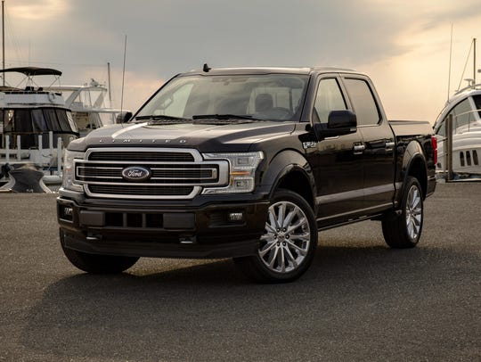 Ford is recalling 327,000 F-Series pickup trucks in