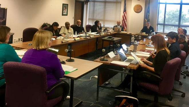 The Oregon State Board of Education met Thursday, Jan. 26, 2017 to discuss a temporary waiver and permission districts could request due to inclement weather.