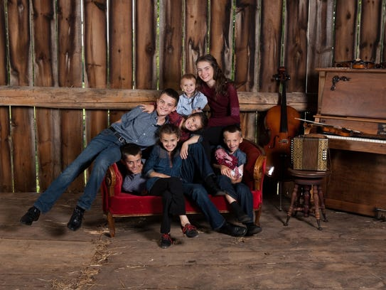 Doug and Jennifer Leahy and their talented children