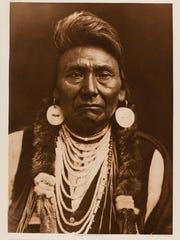 Nez Perce Indian Chief Joseph in 1909.