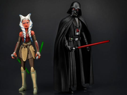 "Special ""Star Wars Rebels"" action figures of Ahsoka"