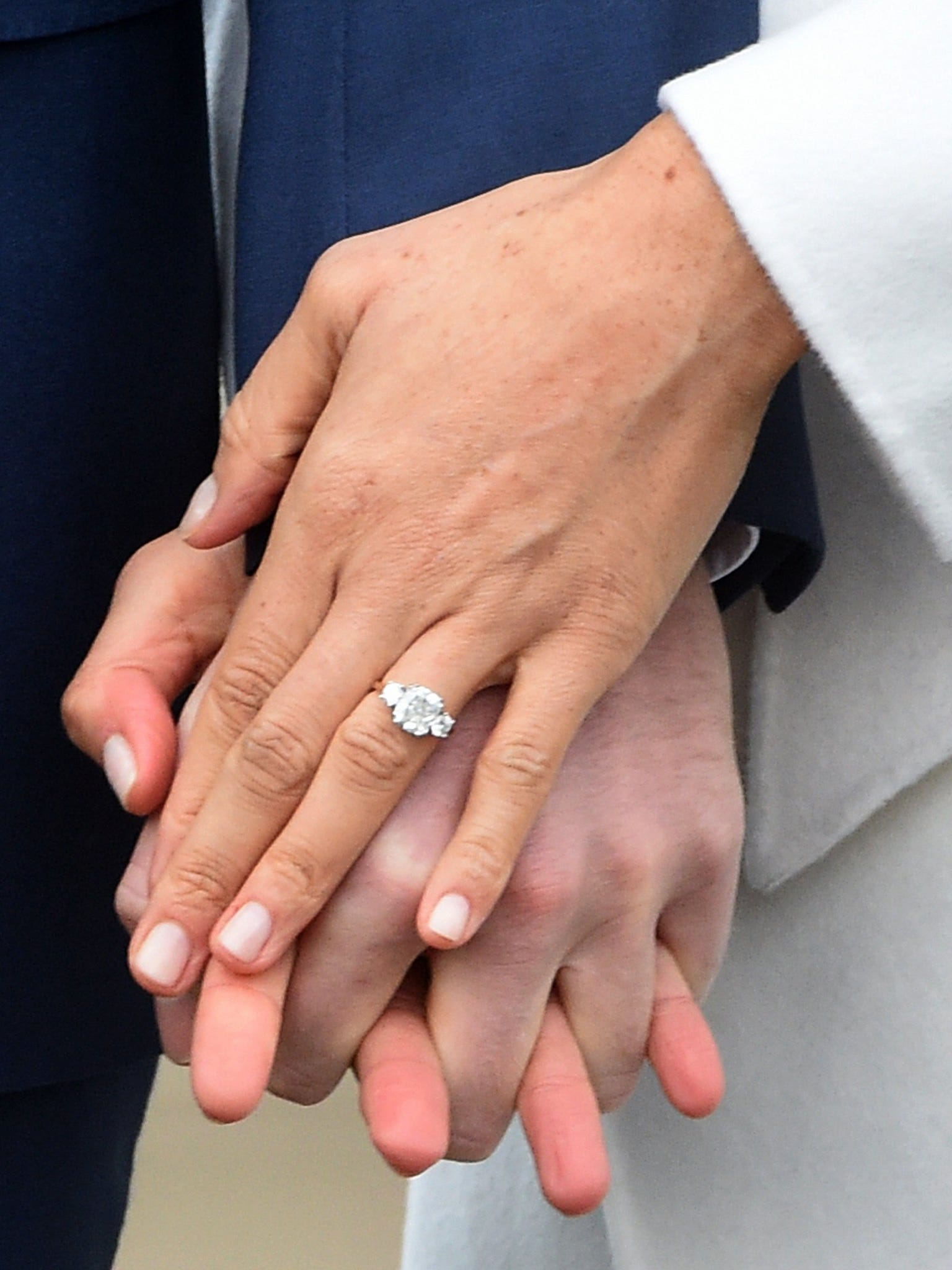 see meghan markle s stunning engagement ring engagement ring