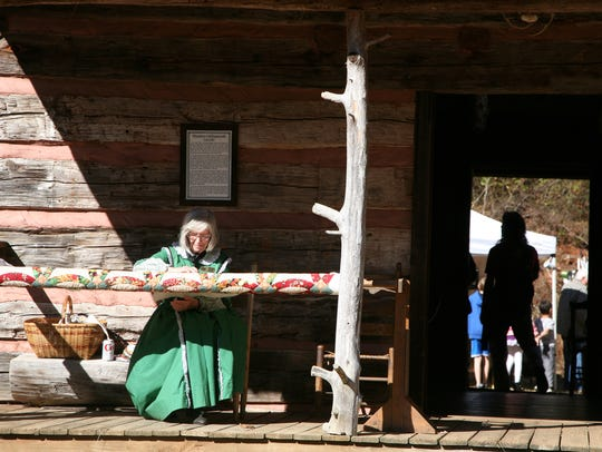 The Native American festival was at Hagood Mill in