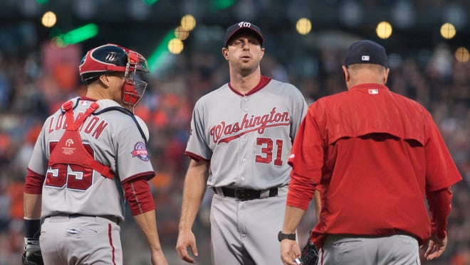 Max Scherzer suffered his worst outing with the Nationals on Friday.