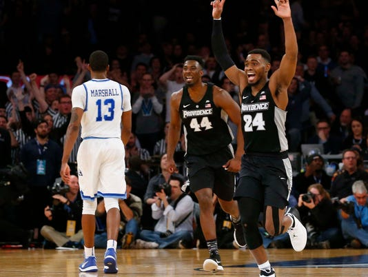NCAA Basketball: Big East Conference Tournament-Xavier vs Providence