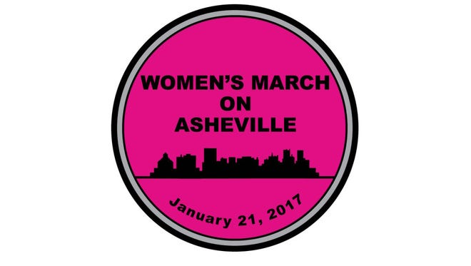 The Women's March on Asheville will be held Jan. 21, a day after Inauguration Day.