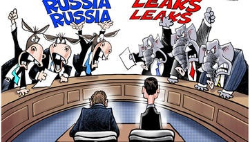Cartoonist Gary Varvel: House Intelligence Committee