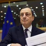 European Central Bank President Mario Draghi will lead a pivotal ECB meeting Thursday.