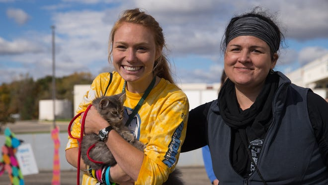 """""""Empty the Shelters"""" found homes for more than 1,900 cats and dogs across the state of Michigan on Oct. 22, 2016."""