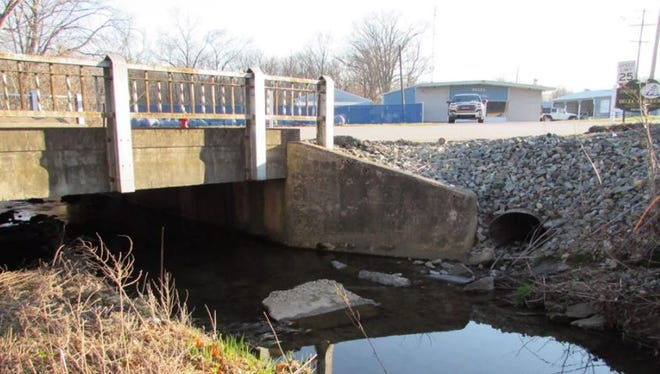 Work on the Dooley Road bridge over Scott Creek in Delta borough is planned for August through October.