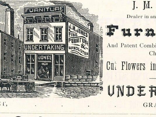 Jones ad collegian 1885