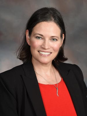 Maureen M. Stover, who teaches science at Cumberland International Early College High School, is a finalist for National Teacher of the Year. [Contributed photo]