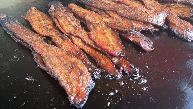 Expect bacon everything at Indy's Bacon Fest noon to 3 p.m. Jan. 30 at Crane Bay Event Center, 551 W. Merrill St.