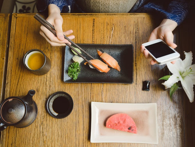 Technology for traveling foodies is constantly evolving,