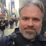 Mississippi native Matthew Teague is seen in New York on the day his Esquire story won a National Magazine Award.