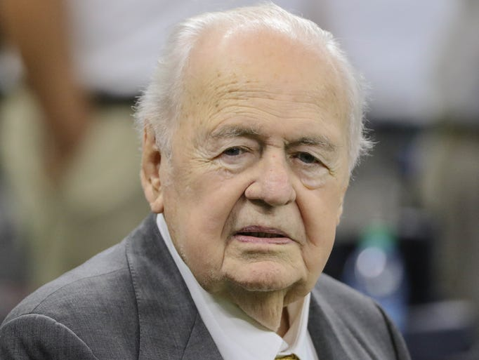 Tom Benson, who owned the NFL's New Orleans Saints
