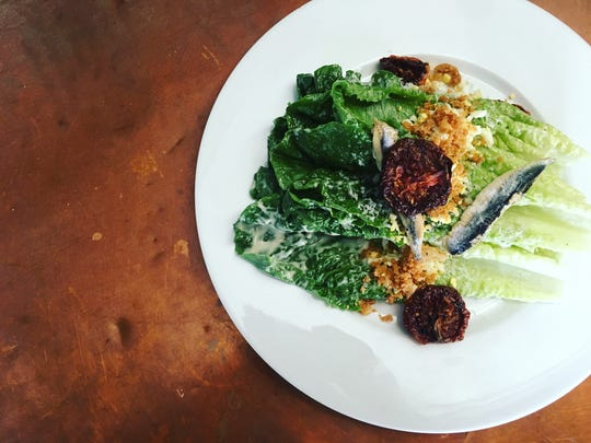 The Caesar from St. Francis is a romaine-based salad