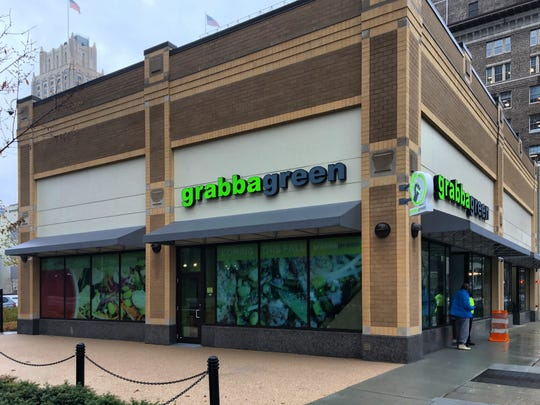The Grabbagreen fast-casual restaurant chain is preparing to open its first Northeast location (shown here in Newark) and plans to expand throughout North Jersey.