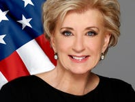 SBA chief Linda McMahon, former wrestling exec, in Jackson for small business tour