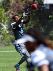 Robert Meachem, 33, catches a pass during Your Call