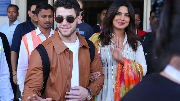 Priyanka Chopra and Nick Jonas arrive in Jodhpur in