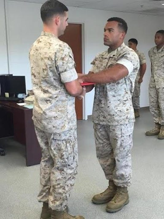 Sergeant promoted