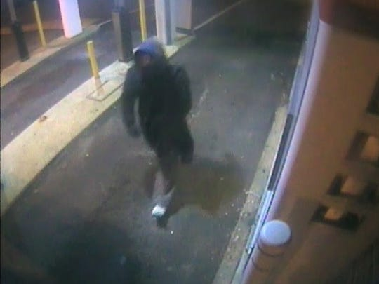 Wall police released this surveillance footage of the