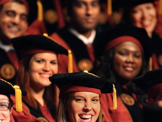 The FSU College of Medicine has an enrollment percentage