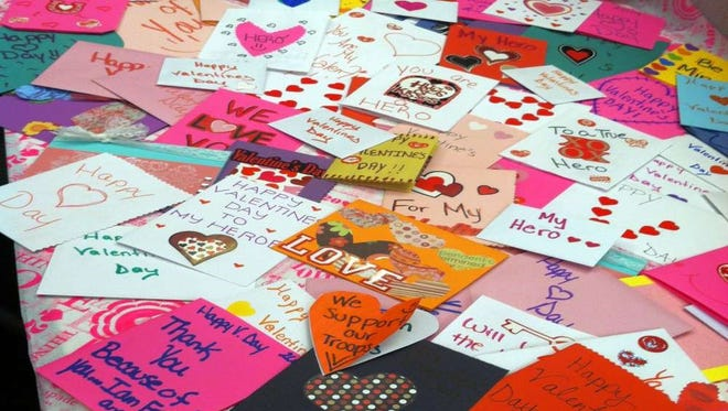 Glasstown Arts District invites community members to create Valentines for Veterans on Third Friday.