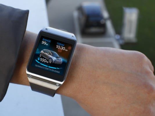 Ces 2014 Samsung Smartwatch To Interface With Bmws