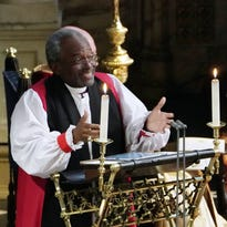 Royal wedding: Bishop with Cincinnati ties takes royals to church in rousing sermon