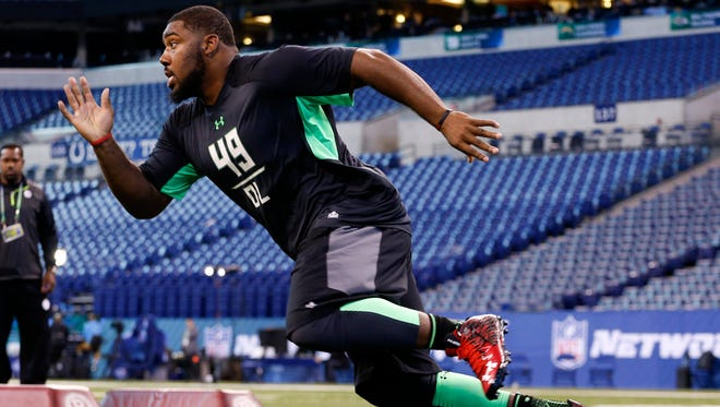 Defensive lineman Sheldon Rankins was the New Orleans Saints' first-round pick at the NFL Draft.