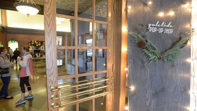 The Yuletide Pop-Up shop was held for the first time at the New Southern Hotel on Saturday.