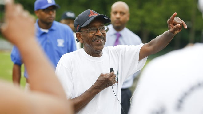 Bob King, former Howard High School track star and coach, earned the Herm Reitzes Award from the DSBA for his service to area youth through his involvement with Wilmington Parks & Recreation's summer track and field programs.