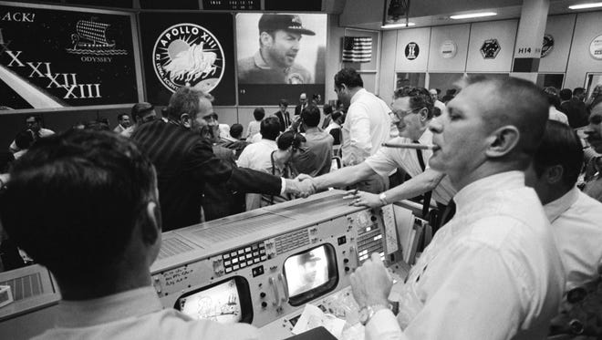 "NASA flight director Gene Kranz oversaw flight control team when Neil Armstrong stepped onto the moon and when Apollo 13 commander Jim Lovell said ""Houston we have a problem."""