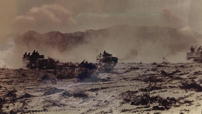 Camp Iron Mountain, 1943.